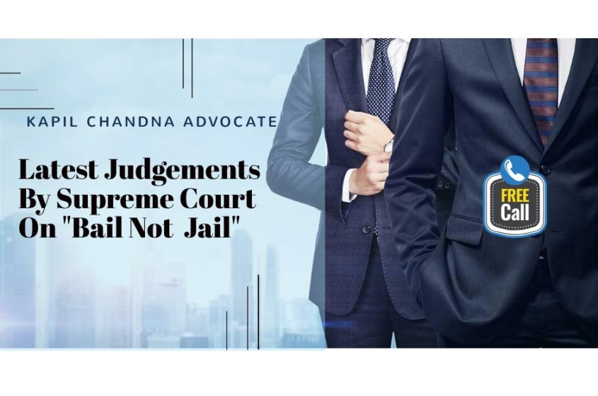 """Bail not Jail"" Supreme Court of India 1"